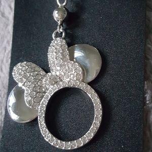 New Disney MINNIE mouse SWARVOSKI Crystal necklace